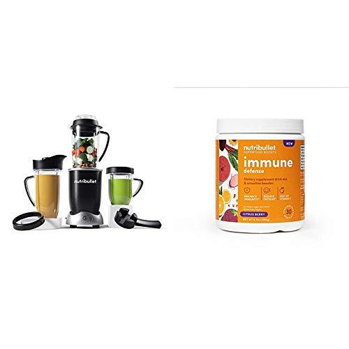 NutriBullet Rx N17-1001 Blender with SuperFood Immune Defense Boosts- 30 Servings