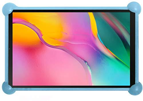 antber Funda Tablet 10.1 Universal Silicona Valida para Todas Las Tablets de 10.1' Compatible con Tablet Samsung Tab a 10.1 2019 Huawei mediapad t5 (Azul)