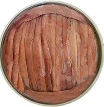 Anchoas de Santoña Gourmet Lata 280gr neto 40 Filetes Engraulis Encrasicolus Anchoa Artesanal Exquisitamente Limpia Sin Espinas en Aceite de Oliva Virgen Extra