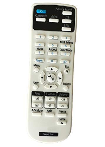 Aimple - Mando a Distancia para proyector Epson EB-2265U, EB-4850WU, EB-5510, EB-S31, EB-W16, EB-X42