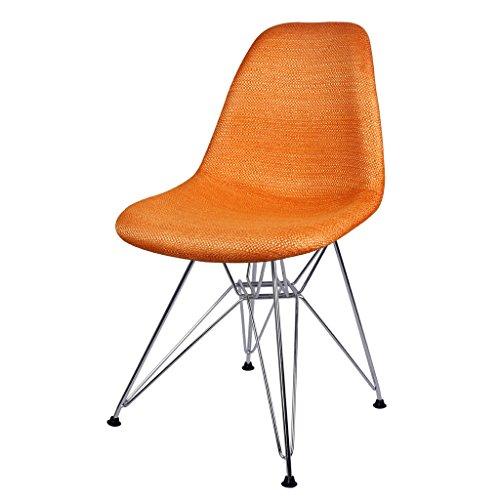 Cs Stof Art rugleuning stoelen Café casual stoelen conferentafel kruk dikke ijzeren stoelen poten drager, goede gravure