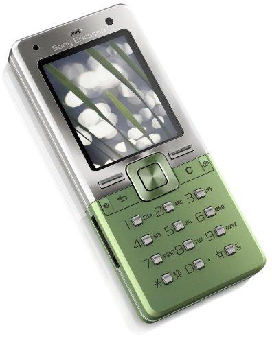 Sony Ericsson T650i Growing Green UMTS Handy