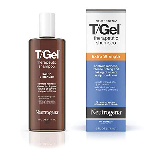 Neutrogena T/Gel Extra Strength Therapeutic Shampoo with 1% Coal Tar,...