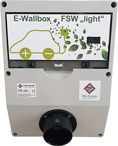 FSW E-Wallbox Light, 11kW, 16A, Tipo 2