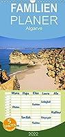 Algarve - Familienplaner hoch (Wandkalender 2022 , 21 cm x 45 cm, hoch): Die Algarve, faszinierende Kueste am Rande Europas. Lassen Sie sich verzaubern von Straenden und bizarren Felsformationen der Sued- und Westalgarve. (Monatskalender, 14 Seiten )
