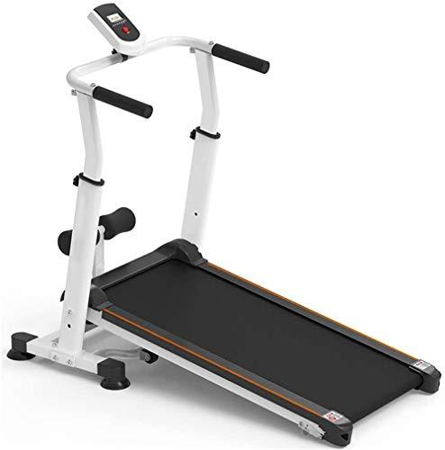 QDWRF Mini Laufband Klappbar, klappbare Laufband Fitness Laufmaschine Home Gym Walking für Erwachsene Kinder Haushalt Aerobic-Übung Profi Motorisierte Klappbare Laufmaschine Tragbar Walking