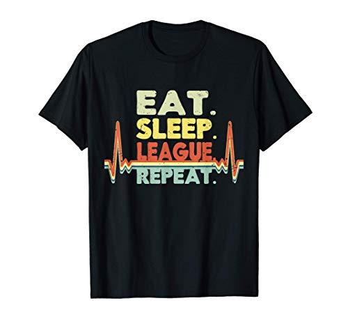 LOL Merchandise League Regalos de juegos hombres jugador Camiseta