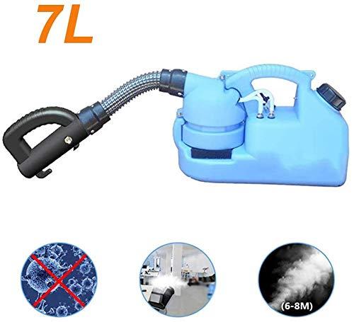 7L tragbare Nebelmaschine Desinfektionsmaschine, Nebelgerät Zerstäuber Sprayer für Schulkrankenhäuser Farm Hotel Home Sprühfläche 6-8m