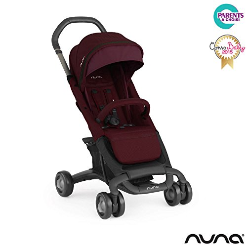 NUNA Pepp luxx Buggy Design 2016 Kinderwagen, Berry