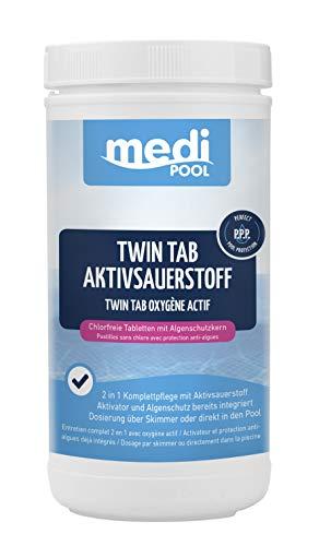 Medipool Schwimmbadpflege Twin Tab Aktivsauerstoff, 1 kg