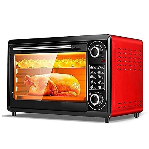 ZHZHUANG Horno de la Tostadora de la Cocina 48 Litros Horno Eléctrico para Hornear Panadería Horno Horno Pizza Horno Cocina Electrodomésticos 540Mm * 350Mm * 340Mm