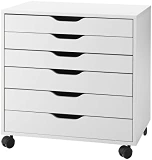 IKEA 401.962.41 Alex Drawer on Casters, White, 26