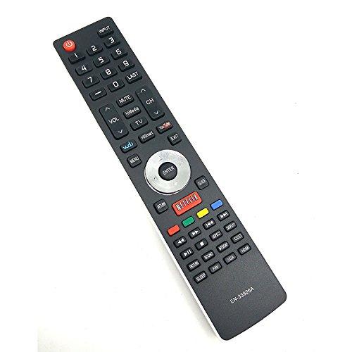 New UBay Remote EN-33926A for Hisense Smart TVs 32K20DW 32K20W 40K366WN 50K610GWN 55K610GWN 40H5 XV5849 32H5B 40H5B 48H5 50H5B 50H5G 50H5GB