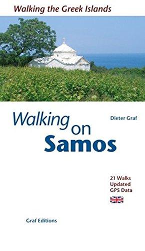 Walking on Samos: 21 Walks Updated GPS-Data