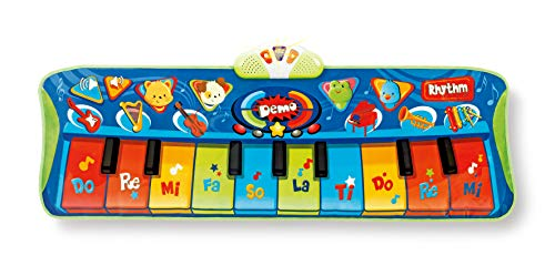 winfun Keyboard Matten Spielteppich erstes Piano mit Licht und Sound