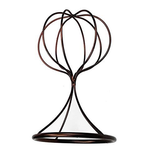 dailymall Support De Casque De Chapeau De Support De Casque En Métal De Style Ballon - 27,5 cm