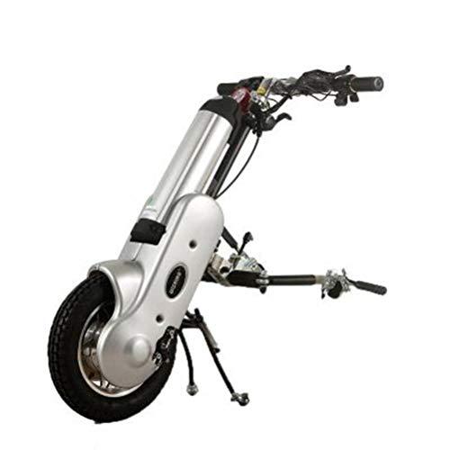 OLLTT Rollstuhlspindelstock Rollstuhlzubehör Rollstuhlmotor Rollstuhl Elektrischer Minikopf Tragbar für Behinderte Sportrollstuhl Elektrischer Antriebskopf (Lithiumbatterie)