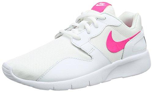 Nike Kaishi, Baskets Basses Fille, Blanc (White/Hyper Pink), 36 EU