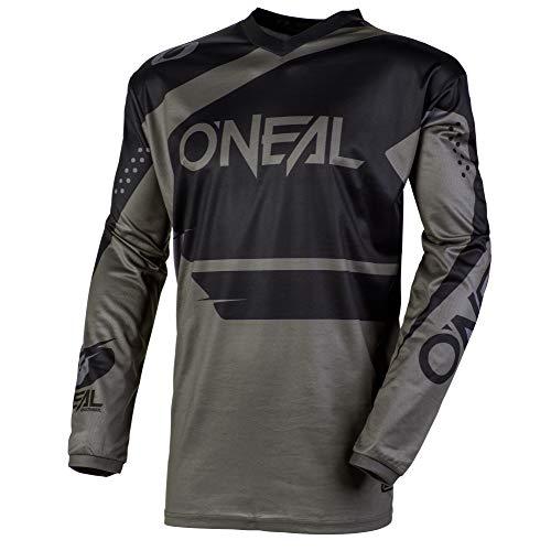 O'NEAL Element Racewear FR Jersey Trikot lang grau/schwarz 2020 Oneal: Größe: L (52/54)
