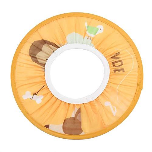 Gorro de Protección Ducha Bañarse de Tela Impermeable para Bebé Niños Cabello Elástico Sombrero (Amarillo) 🔥