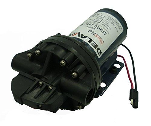 Delavan Extreme Duty Geolast Diaphragm Pump 12V, 45PSI, 5.0GPM,5850ED-201C-SB