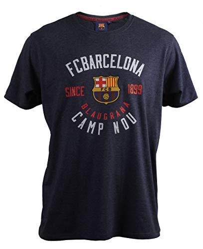 T-Shirt Record-19 Azul Vigore FC. Barcelona - Offizielle Lizenziert - Erwachsener Größe M