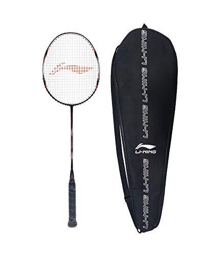 Li-Ning SS-8-G5 Carbon-Graphite Strung Badminton Racquet, S1...