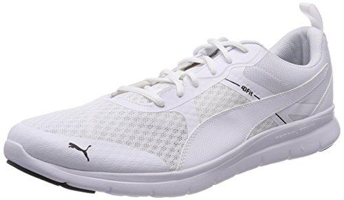 PUMA Unisex Flex Essential Sneaker, Weiß White White 02, 48.5 EU