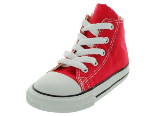 Converse Chuck Taylor All Star High, Zapatillas Unisex niños, Rojo, 24 EU