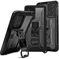 Enzou Clear Colorful Armor Galaxy A52 5g Case with Corkscrew