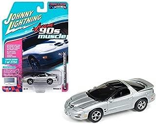 DIECAST 1:64 Muscle Cars USA - 1999 Pontiac Firebird Trans AM WS6 (Sebring Silver) JLSP028-24B by JOHNNY LIGHTNING