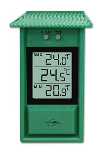 Inovalley 312ELG - Estación meteorológica (plástico), Color Verde