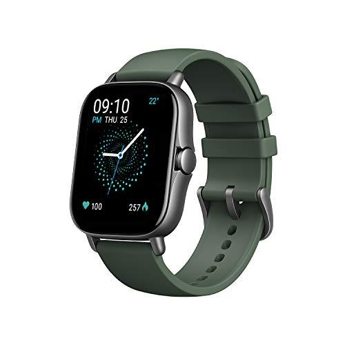 Amazfit Smartwatch GTS 2e GPS 1,65''Aktivitätstracker für Fitness und Gesundheit mit 90 Sportmodi, 14 Tagen Akkulaufzeit, Überwachung von SpO2, Herzfrequenz, Schlaf, Stress für Herren Damen