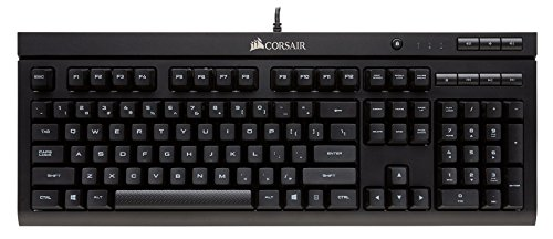 Corsair CH-9103000-NA K66 Mechanical Gaming Keyboard - Linear & Quiet - Linear & Quiet - Cherry MX Red