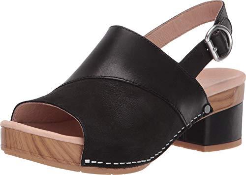 Dansko Women's Madalyn Black Sandal 8.5-9 M US