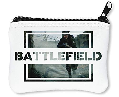 Osom Battlefield   Video Game Series   Popular Action   Modern War   Cool T Shirt   Nice to   Super   First Person Shooter Reißverschluss-Geldbörse Brieftasche Geldbörse