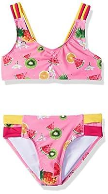 Jantzen Girls Little Chiquita Bikini, Fruit/Flower Print, 6