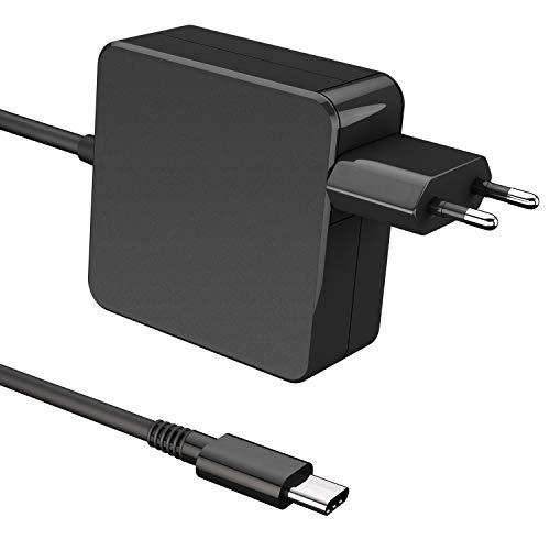Universelles Chromebook Ladekabel (Ladegerät für alle Chromebooks) | 65W | USB C Anschluss | Netzteil Type C AC Adapter PD Netzteil | Notebook Ladegerät für Acer, Lenovo, HP, ASUS, uvm. - 6