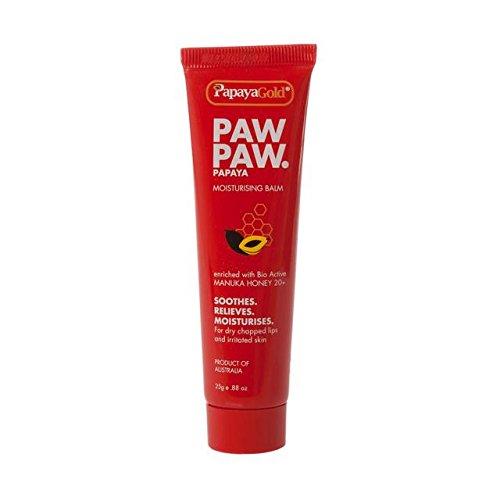 PapayaGold Paw Paw Manuka Honey Hydratant Baume 25g