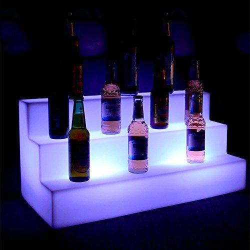 OOFAY& LED - Änderungen 7 Farben - Eis Eimer Wasserdicht Drei-Stufen-Bars Regale Halter, Beleuchtet Flasche Zeigt An Bier Inhaber Fernbedienung + Adapter