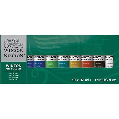 Winsor & Newton Winton Ölfarbe, Starter-Set, 10 x 37 ml