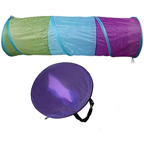 Pop Up Kruipen Tunnelbuis Opvouwbare Outdoor Play Tenten Met Verpakking Bag - for Kids Baby Dreumes