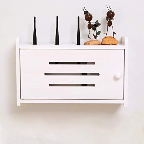 FENG Plank, drijvende kabel, netsnoer, opbergdozen, behuizing met houder/houder voor wifi-router, tv-box, topbox, accessoires