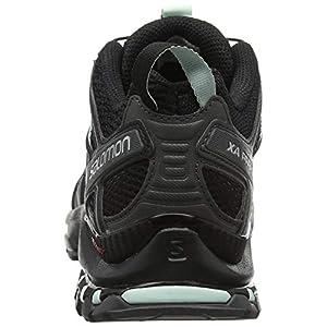 Salomon Women's XA Pro 3D Trail Running Shoes, Black/Magnet/Fair Aqua, 8.5 M US