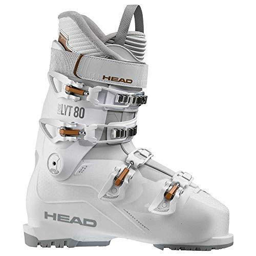 HEAD Damen Skischuhe Edge LYT 80 W Weiß/Copper – Weiß, weiß, 41