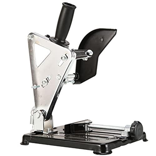 enweQVQ Supporto per Smerigliatrice Angolare, Mini Supporto Troncatrice Ferro, Anti Ruggine, Regolabile, Supporto Smerigliatrice per Smerigliatrice Angolare 100-125,+5 Metal Saw Blade