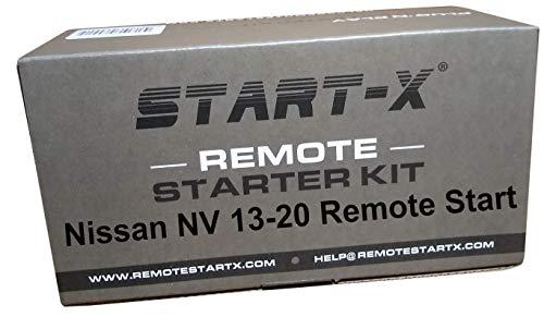 Start-X Remote Starter Kit for Nissan NV200, NV1500, NV2500, NV3500 2012-2020    3X Lock to Remote Start    Zero Wire Splicing! 2012 2013 2014 2015 2016 2017 2018 2019 2020