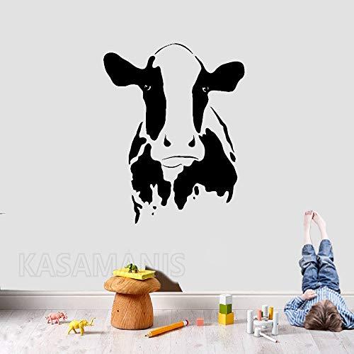 hllhpc Etiqueta de la Pared del Cartel de la decoración Linda Cabeza de Vaca...