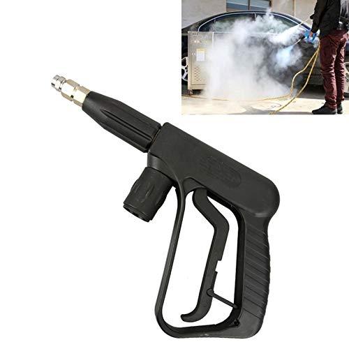 XUJINQI auto reinigingsapparatuur hoge temperatuur hoge druk grote gat mondstuk waterpistool voor stoom auto wasmachine (spuitmond cilindrisch: 1.5)