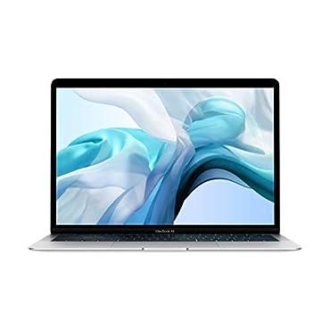 Apple MVFL2LL/A MacBook Air (13, 1.6GHz dual-core Intel Core i5, 8GB RAM, 256GB) Silver, Mid 2019
